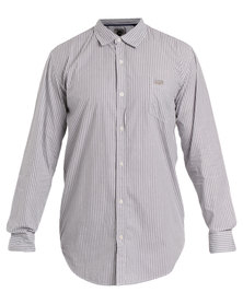 Jeep Long Sleeve Stripe Shirt