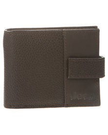 Jeep Wallet Brown