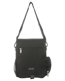 Jeep Travel Sling Bag Black