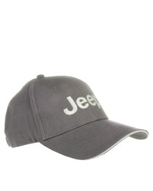 Jeep Cotton Twill Basic Cap Grey