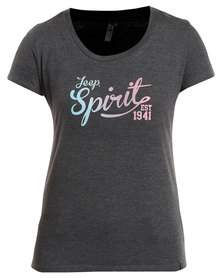 Jeep Spirit Fashion T-Shirt Grey