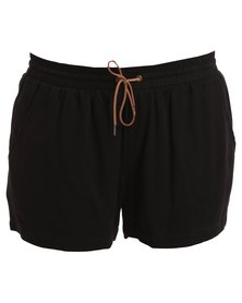 Jeep Spirit Woven Shorts Black