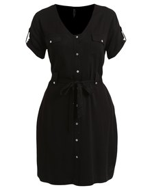 Jeep Spirit Woven Dress Black