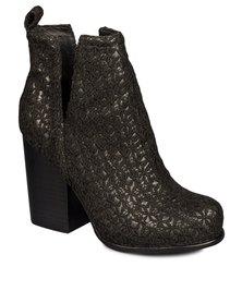 Jeffrey Campbell Oshea Boots Black Crochet
