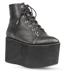 Jeffrey Campbell Wasp Boots Black