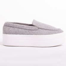 Jeffrey Campbell Nando Sneakers Grey