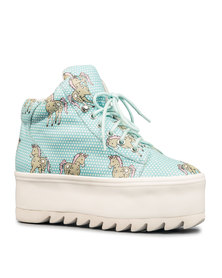 Jeffrey Campbell Darth Unicorn Sneakers Blue