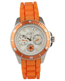 Jetset  Amsterdam Watch Orange