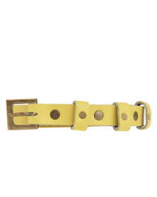 Jinger Jack Summer Belt Yellow
