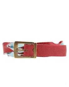 Jinger Jack Fashion Belt Blue