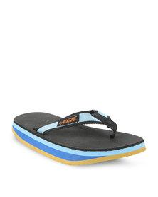 Jordan Beach Flip Flops Multi
