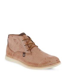 Jordan Woodstock Lace-Up Shoes Brown