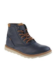Jordan Cooper Ankle Boots Blue