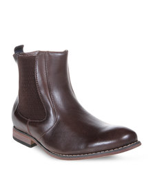 Jordan Snap 2 Ankle Boots Brown