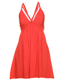 Jorge Old Flame Dress Red