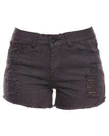 Jorge And I Ran Shorts Black