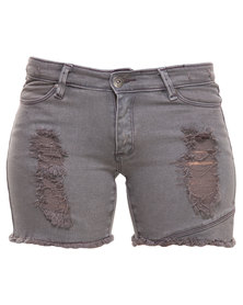 Jorge Deconstructed Shorts Grey