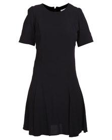 Jorge Breakaway Dress Black