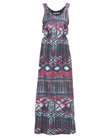Jorge. Drifter Print Dress Multi
