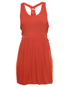 Jorge All Tied Up Party Dress Red