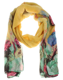 Joy Collectables Tulip Scarf Yellow
