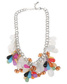 Joy Collectables Multi Tear Stones Necklace