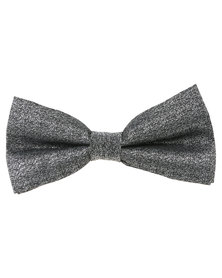 Joy Collectables Mens Fashion Bow Tie Grey