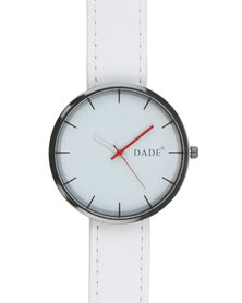 Joy Collectables Classic Fashion Watch White
