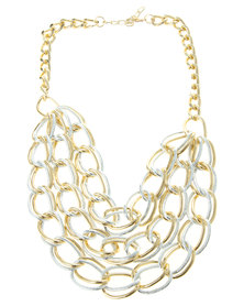 Joy Collectables Chainlink Necklace Silver