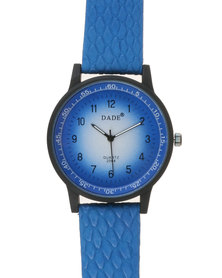 Joy Collectables Authentic Kicked In Watch Blue