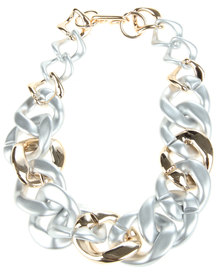 Joy Collectables Chain Link Necklace Silver-Tone