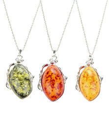 Joy Collectables Amber Necklace Set Multi