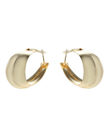 Joy Collectables 2 Pack Hoop Earrings Gold-Tone