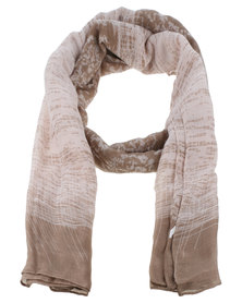 Joy Collectables Ladies Ombre Fashion Scarf Brown