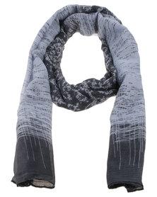 Joy Collectables Ladies Ombre Fashion Scarf Grey