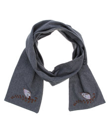 Julina Knitted Scarf Grey