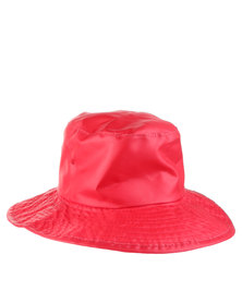 Just Jump! Red Water Repellent Hat Red