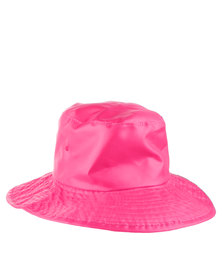 Just Jump! Pink Water Repellent Hat Pink