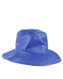 Just Jump! Water Repellent Hat Blue
