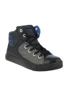 K7Star Arthur PU Sneakers Black