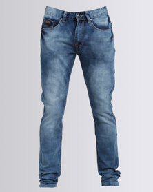 K7Star Marble Jeans Blue