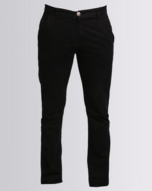 Klevas Chino Trouser Black