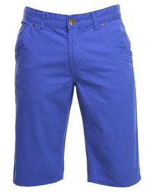 Klevas Majita Bermuda Shorts Blue