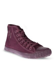 Klevas Footsack Sneakers Burgundy