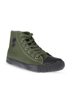 Klevas Footsack Sneakers Olive