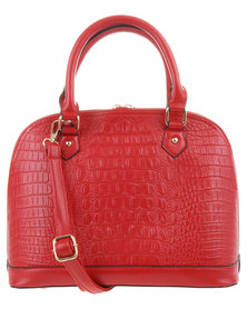 Klines Croc Dome Bag Red