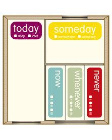 Knock Knock Someday Mini Sticky Set Multi