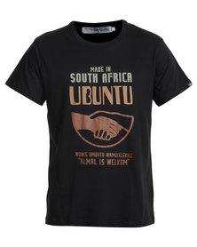 Krag Drag Ubuntu Tee Black