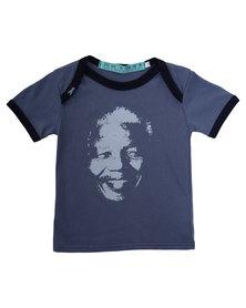 Krag Drag Madiba Tee Blue