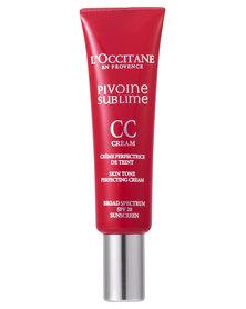 L'Occitane Peony CC Cream Medium 30ml